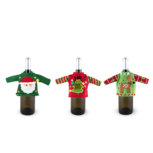 Jubilee Assorted Ugly Wine Sweaters by True
