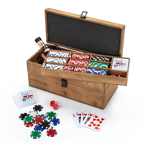 Poker & Liquor Box Set by Foster & Rye